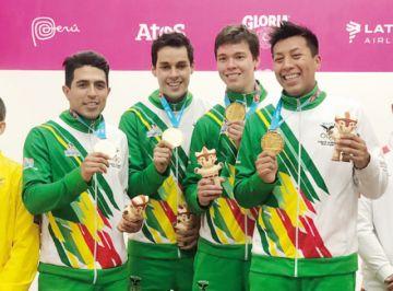 Histórico oro para Bolivia