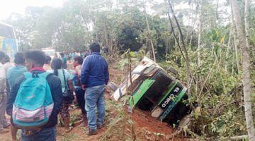 Tres muertos y 14 heridos en un accidente en La Paz