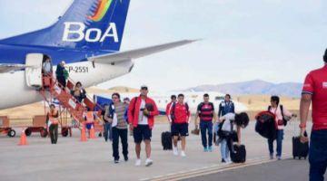 Vuelo de BoA de Sucre a Santa Cruz sufre incidente