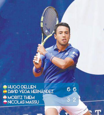 Hugo Dellien subió al puesto 87  del ranking ATP