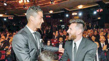 CR7 dice ser más que Messi