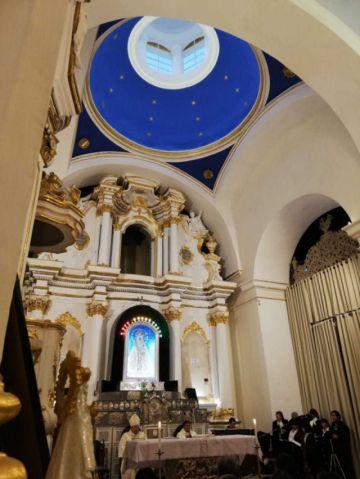 Entregan restauración de la Capilla de la Virgen de Guadalupe