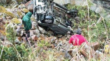 Accidente en los Yungas deja 2 personas fallecidas