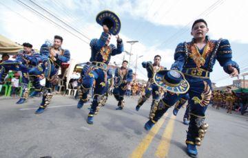 Color en la Entrada Folclórica de Urkupiña con casi 80 fraternidades