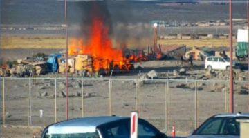 Cierran frontera con Chile por violencia entre contrabandistas y militares