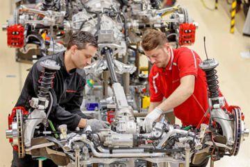 La economía de Alemania baja por guerra comercial