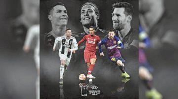 Tres  van por el premio UEFA