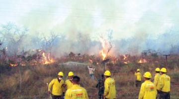 Por incendios, Santa Cruz  se declara en emergencia