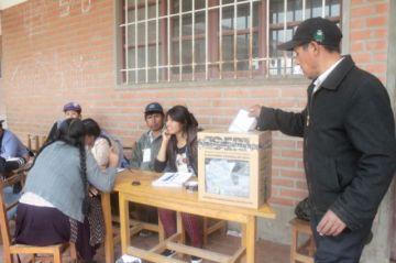 Csutcb compromete voto orgánico del área rural