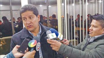 """Villegas ve una """"injusticia total"""" de la FBF con él"""