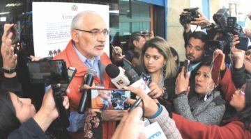 Potosí: Mesa denuncia hostigamiento del MAS