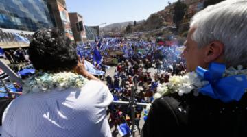 """""""Los empresarios me dicen: 'Estoy ganando más que con mi partido'"""", afirma Evo Morales"""