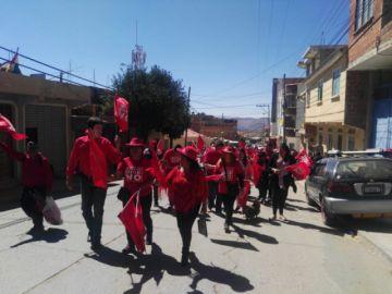 Partidos intensifican sus campañas este sábado en Sucre