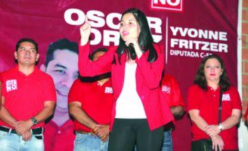 Candidata a vice de BDN desafía a Evo en elecciones