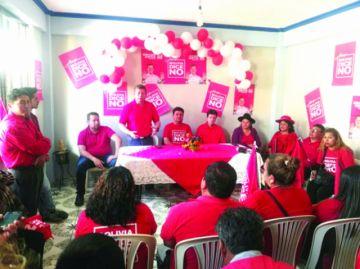 Partidos políticos intensifican campañas