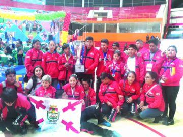 Chuquisaca fue segunda en los Juegos