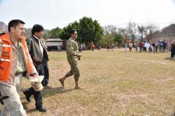 Evo Morales afirma que incendio forestal de Roboré bajó en un 70%