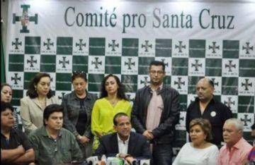Santa Cruz suspende paro cívico por incendios forestales