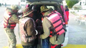 Armada restaca cuerpo de un hombre en La Paz
