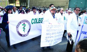 Médicos y trabajadores en salud inician una semana conflictiva