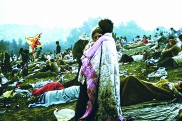 Detrás de la famosa foto de Woodstock