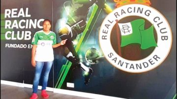 Boliviana al fútbol español