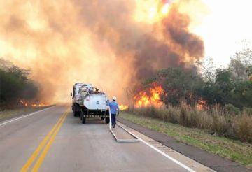 Chiquitanía: Incendios bajan en 80%, pero alerta continúa