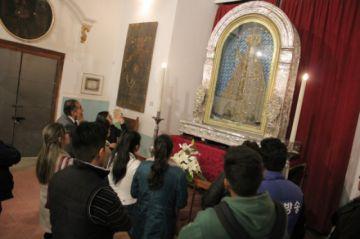 Prenovena abre los actos religiosos por Guadalupe