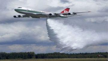 Avión SuperTanker llegará este jueves para aplacar incendios