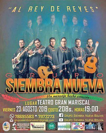 Siembra Nueva presentará su segundo álbum