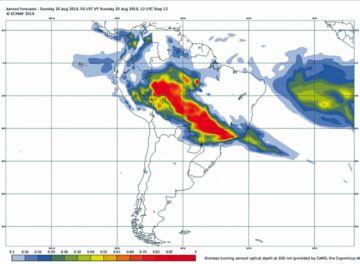 La Amazonía sigue en llamas  y Bolsonaro apunta a las ONG