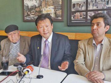 "Chung: ""Solo la mano de  Dios va a cambiar Bolivia"""