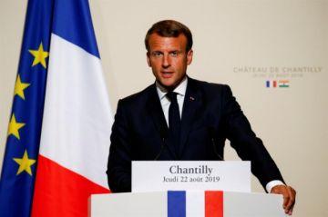 """Macron: Incendios son una """"crisis internacional"""""""