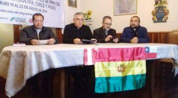 La migración preocupa  a obispos de tres países