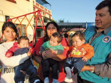 Gabriel, Uriel y Rafael festejan su primer año