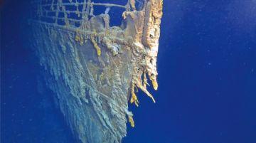 Fotografían el Titanic después de 14 años