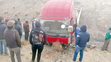 Uniformados abandonan  la Policía en Villa Charcas