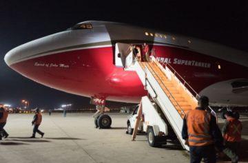 Avión Supertanker comenzará operaciones en Taperas