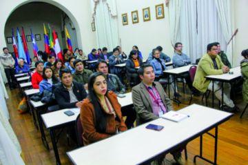 El CEPI empieza diplomado  en Derecho Constitucional
