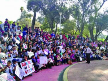 Adventistas marchan para prevenir el abuso sexual