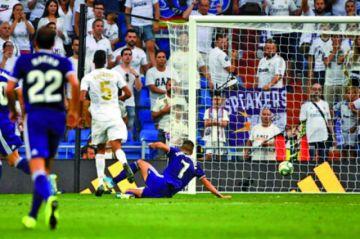 El Madrid empató en casa