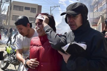 Al menos 50 heridas tras enfrentamientos entre vecinos y choferes