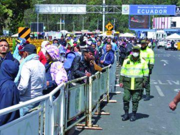 Venezolanos salieron del país este fin de semana