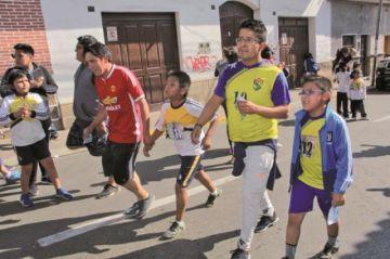 Don Bosco celebra aniversario con una maratón familiar