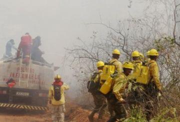 Pronostican temperaturas de hasta 40ºC en zonas afectadas por incendios
