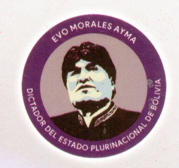 """Tres imputados por logo """"Evo dictador"""""""