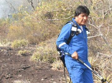 Evo Morales revela que se extravió casi una hora en la Chiquitanía