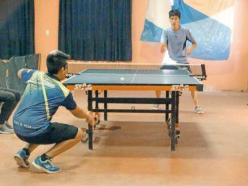 Camargo se hace fuerte por parejas en tenis de mesa