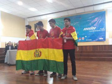 Bolivia se destaca con dos estudiantes en la Olimpiada Matemática del Cono Sur