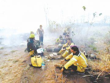 Incendios no dan tregua al país